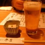 10890095 - お通し、生ビール