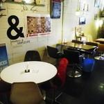 PARADISE CAFE MODERNS - 店内も凝ってますが料理も大変美味しいですよ!