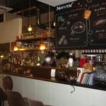 PARADISE CAFE MODERNS - カウンター席まわり