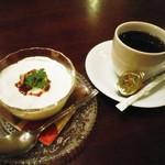 PARADISE CAFE MODERNS - 大人プリンとドリンクセット