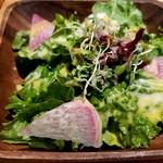 ツミキ - ランチのサラダ
