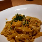 ツミキ - 海老のトマトクリームソース