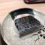 吉そば - おにぎり(鮭)