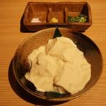 炭焼き やながわ - 手作り豆腐