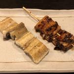 鰻せいろう 髙之屋 - 白焼き串・蒲焼き串
