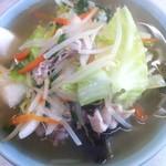 水元屋 - 料理写真:野菜ラーメン