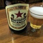湘南BBQ - 赤星で乾杯