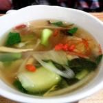 ネオ ガーデン カフェ - 薬膳スープ