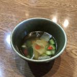 麦の楽園 - 野菜のスープ♪