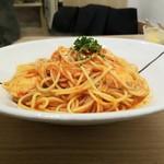ハシヤ - 横からチキンのトマトソーススパゲッティ