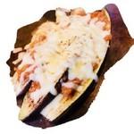 茄子ミートチーズ焼き