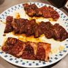 大山焼肉 - 料理写真:ロース、バラ、ハラミ