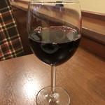 トラットリア パスクアリーノ - グラスワイン 赤 ブリマヴァリーラ