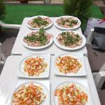 エビスエスクラッシコ - 前菜が並びます