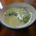 鳥松 - 鳥スープ