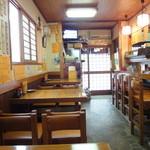 鳥松 - お店は古そうだけど、掃除は行き届いていて綺麗です。