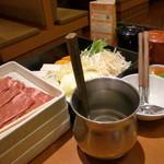 和食さと - しゃぶしゃぶセット