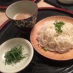 108920427 - 締めの素麺