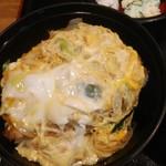 そば宏 - カツ丼定食ご飯大盛り