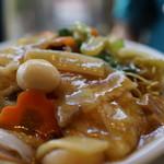 中国四川料理石林 - やはりカタ焼きそばは細麺に限る
