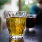 中国四川料理石林 - 烏龍茶(中華はやはりこれ)、そしてアイスコーヒーをチョイス