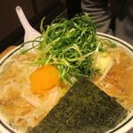 丸源ラーメン - 野菜肉そば(大盛)