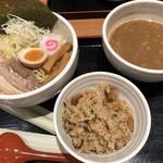 芳麺 - 料理写真:2019/6/1 ディナーで利用。 つけ麺まかないセット(1,030円)