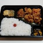 手作り弁当Peace - 鶏の唐揚げ弁当(330円)