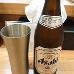 麺屋福丸 - ビール。