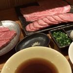 108927756 - ☆東京肉しゃぶ家コース☆ 雲丹料理&シャトーブリアン付き