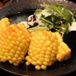 肴や だんじ - トウモロコシ唐揚