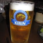 とくさん - 2019年の「生ビール キリンラガー」594円