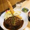 洋食の店 ぺいざん - 料理写真:お好み2種、海老フライとハンバーグ¥980