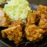 Jiraiya - 鶏唐揚げ定食(860円)