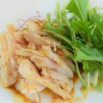 とめ手羽 - 料理写真:熟成鶏のバンバンジー