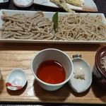 磊庵はぎわら - 水萌え蕎麦セット