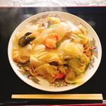 福香園 - 料理写真:あげそば