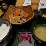 九州 熱中屋 - 数量限定 がめ煮定食 780円