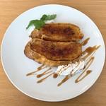 カフェ ラ ぺ - 料理写真:フレンチトーストキャラメリゼ
