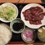 108951806 - 牛ハラミ定食980円