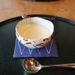 フレンチ松庵 - カブのスープ