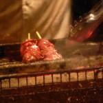 恵比寿 鶏味座 - レバー2 こまめに火を調整する