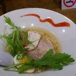 麺八一馬 - 塩ラーメン