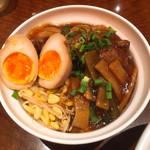 銀座天龍 - 屋台風豚の角煮丼