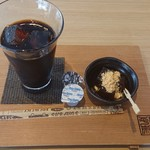 柿の葉ずし 平宗 - 料理写真:アイスコーヒー♪(わらび餅付き)