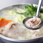 厳選鶏の水炊き