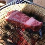 炭火焼肉いち鈴 - ステーキ肉 109g 7.2円/g 790円