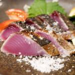 Tossajikurassan - 日戻り鰹のわら焼き