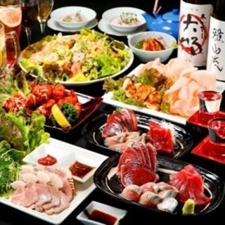 豪勢な海鮮ース料理