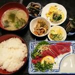 馬かろう - 料理写真:馬さし定食
